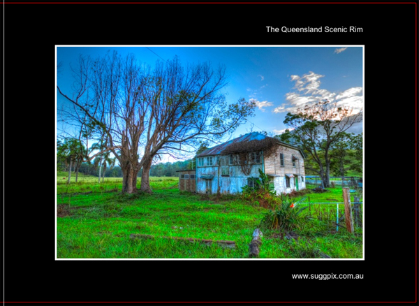 The Scenic Rim. Qld - suggpix - Australian Photographs