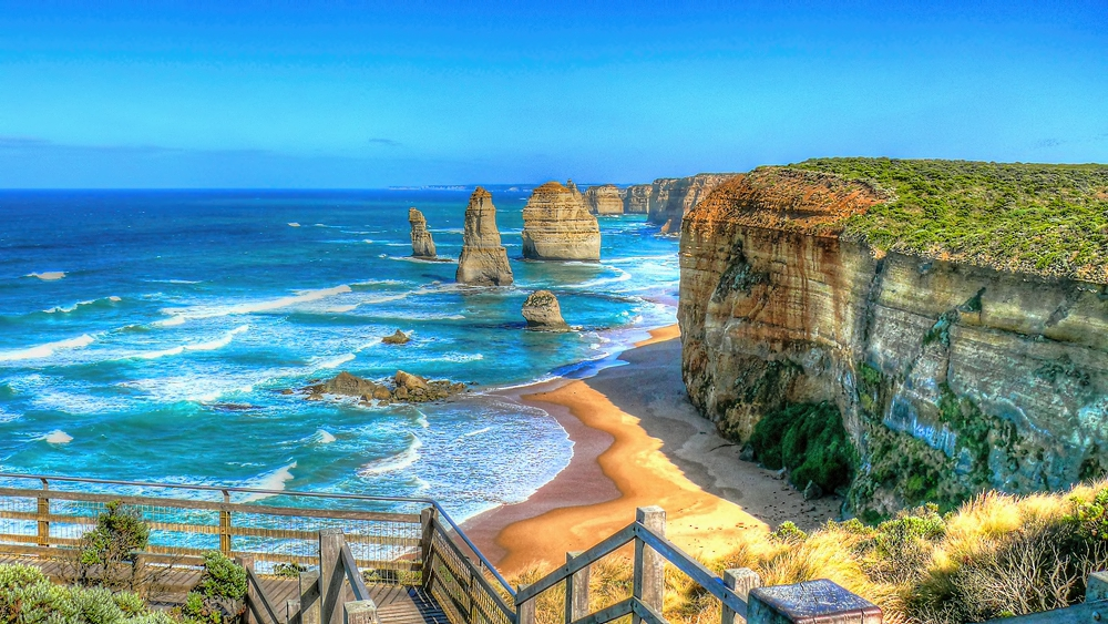 The 12 Apostles... or what's left of them. (copyright suggpix.com.au)