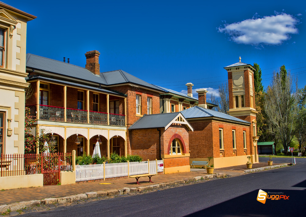 Former Bank and Post Office Carcoar